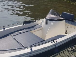 Wynajem łodzi bez patentu Zegrze