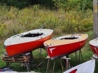 Dyas łódź żaglowa 4 szt