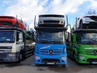 Transport odbiór aut motocykli Lodzi Bremerhaven