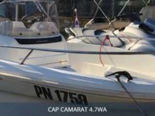 Łódź motorowa Jeanneau Cap Camarat 4.7 WA